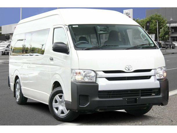 Buy Used 2014 Toyota HiAce Commuter High Roof Super LWB | CMI Toyota